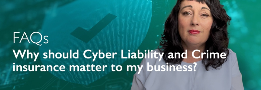 Why should Cyber Liability and Crime insurance matter to my business? – video